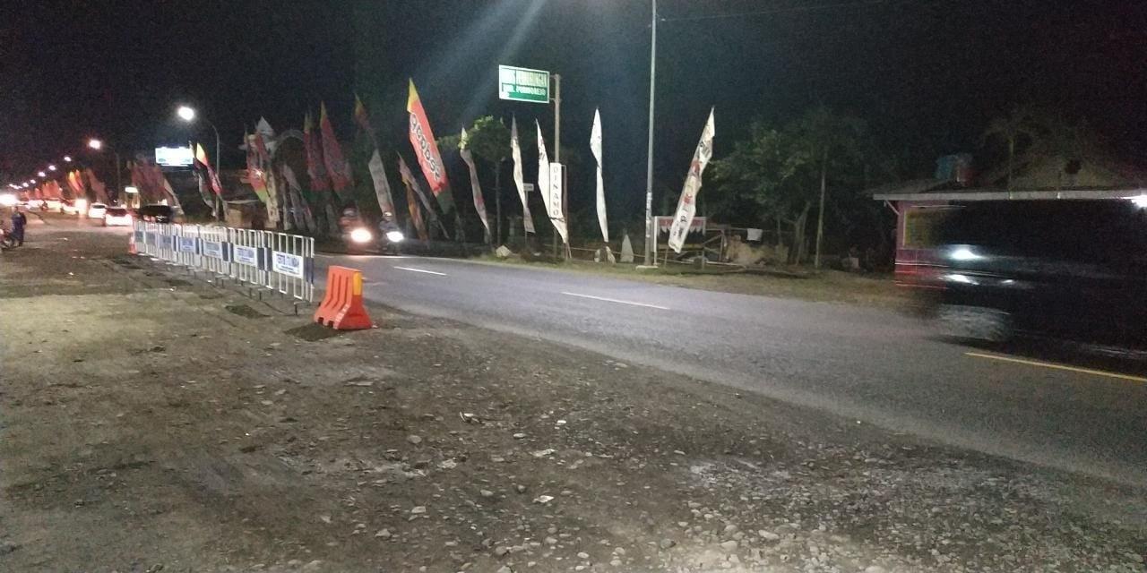 Kondisi lalu lintas pada Malam Hari tanggal 5 Juni 2019