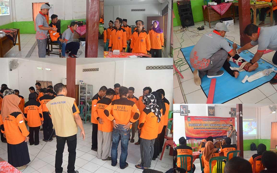 Fasilitasi Desa Tangguh Bencana Kabupaten Purworejo Di Desa Wero Kecamatan Ngombol