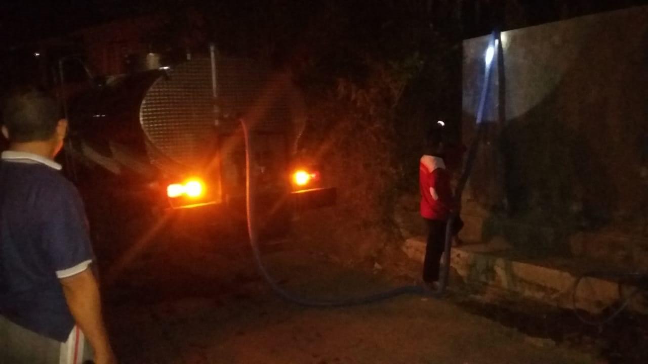 DISTRIBUSI BANTUAN AIR BERSIH HARI KE-87 DI DESA SUDIMORO